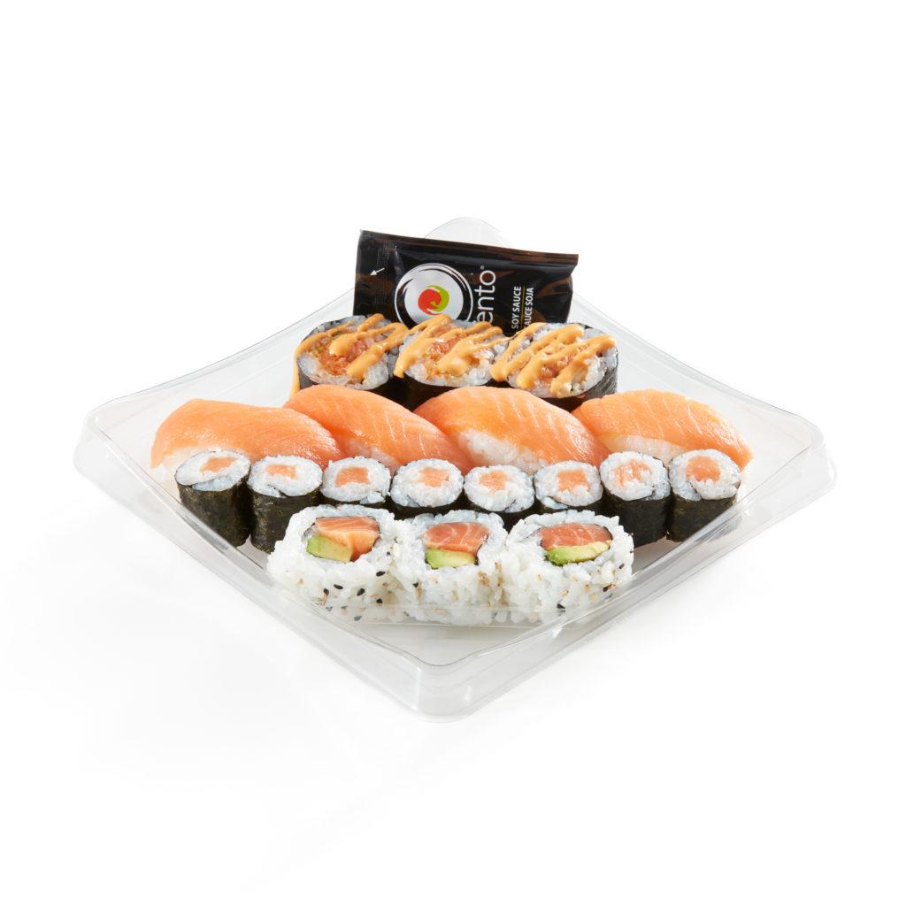Atlantic Salmon Sushi Combo