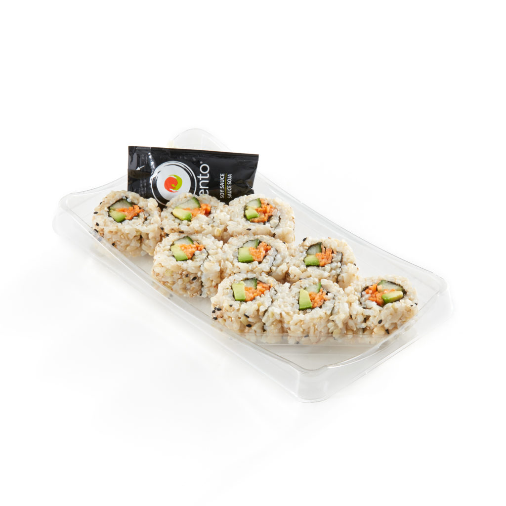 Vegetable California Roll Brown Rice