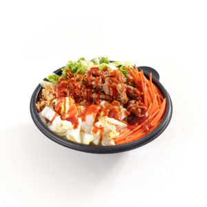 US Spicy Korean Beef Rice Bowl with Gochujang