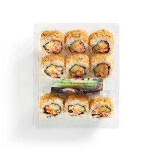 Spicy Shrimp Mango Roll