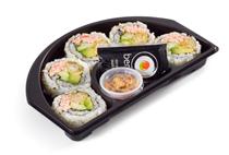 Shrimp Tempura California Crunch Roll