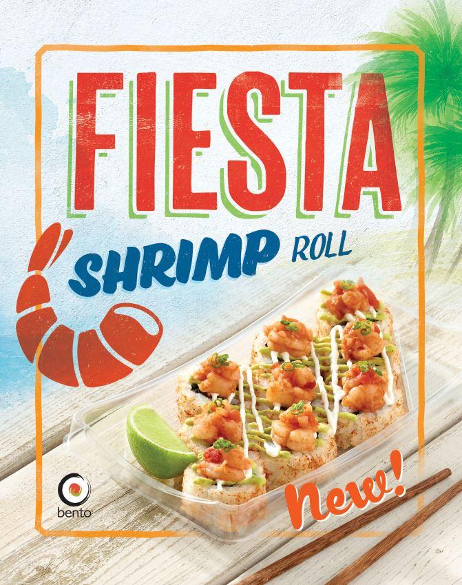 Fiesta Shrimp Roll