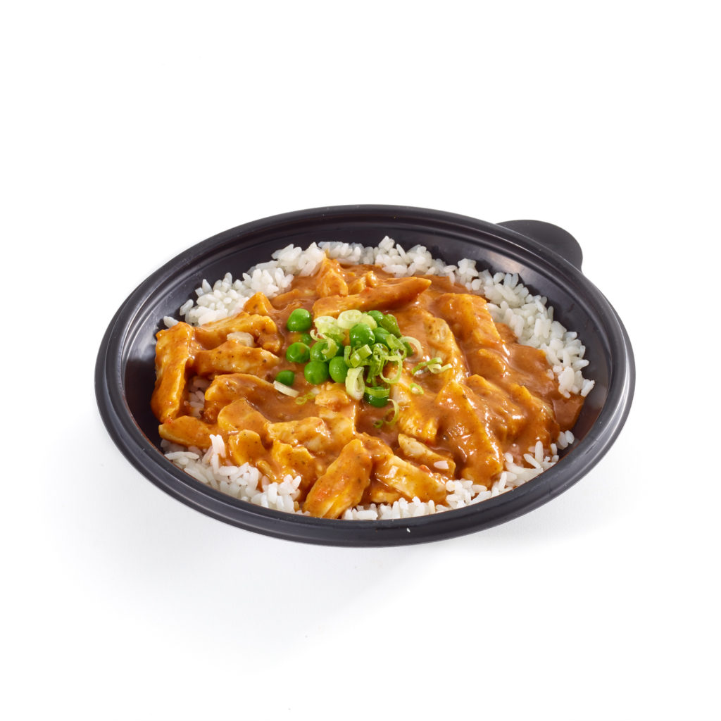 Butter Chicken Rice Bowl