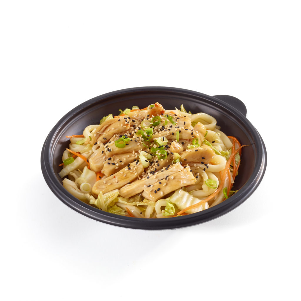Honey Garlic Chicken Noodle Bowl