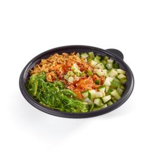 Salmon Poke Rice Bowl