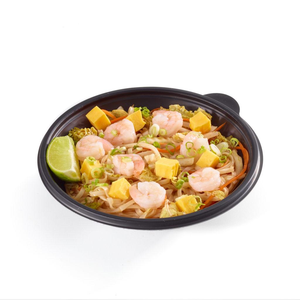 Shrimp Pad Thai Noodle Bowl