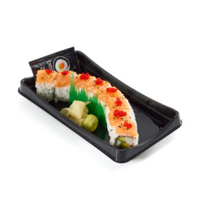 Sunrise Dragon Roll