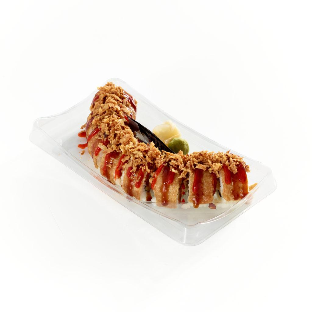 Inari Dragon Crunch Roll