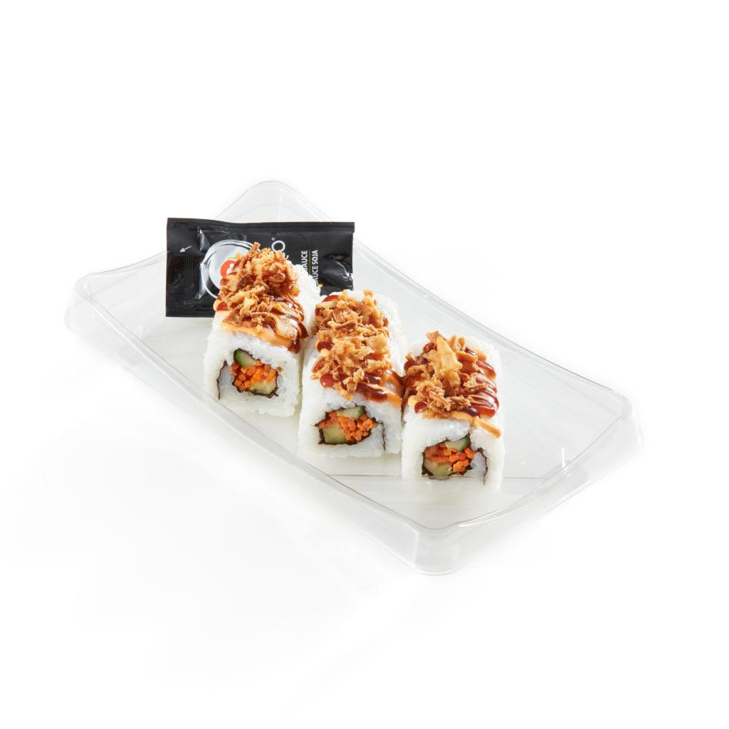 Vegetable Crunch Roll