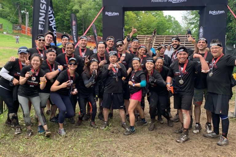 Group Shot from Annual Spartan Race