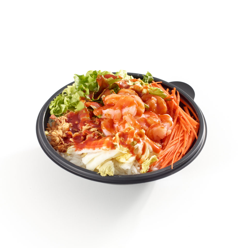 Spicy Korean Shrimp bowl