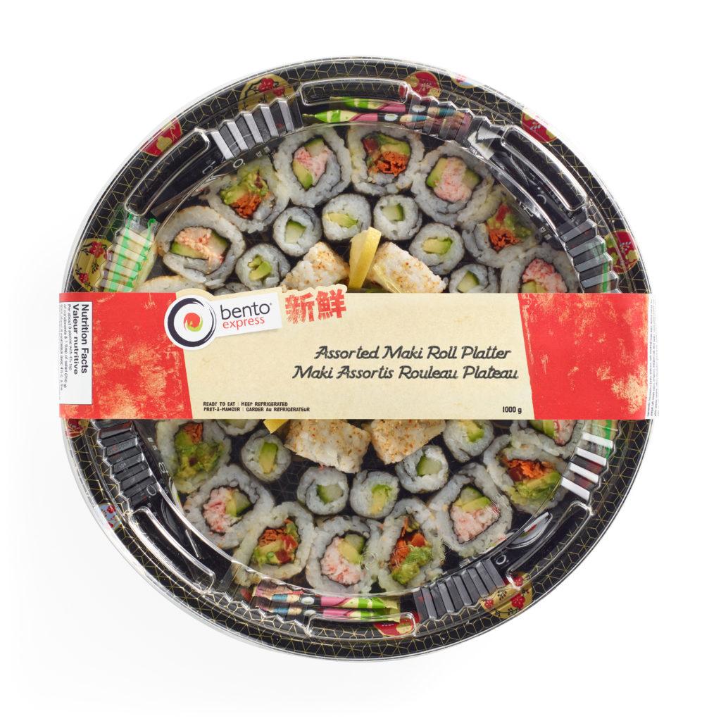 Assorted Maki Roll Platter